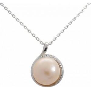 Náhrdelník perlový 925/1000
