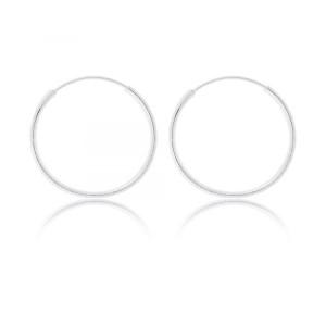 Náušnice stříbrné 925/1000 kroužek