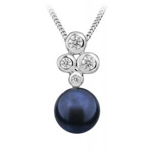 Přívěs stříbrný 925/1000 perlový