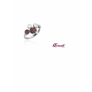 Prsten stříbrný 925/1000 kamenový
